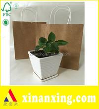 Beautiful Fancy Paper Bag Original Color Brown Gift Paper Bags