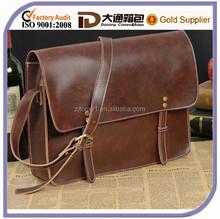 Hot Sale Mens Leather Business Messenger Bag Shoulder Briefcase Casual Laptop Business Messenger Bag