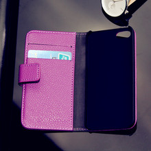 real leather case for iphone 5 bag, mobile phone case, wholesale