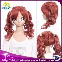 Trade Assurance Protect Wholesale Kanekalon Synthetic Cosplay Wig, Human Hair