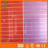 glossy UV slatwall MDF display board
