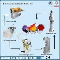 1-5L Paint Container Making Machine Line