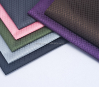 Stock outdoor fabric manufacturer / backpack pu/pvc Coated polyester oxford fabric