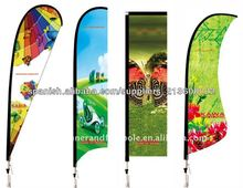 Banderas y Beachflags promocionales