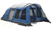 Folding single layer camper truck tent with fireproof PE