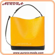 New model yellow cheap beautiful purses and ladies handbags
