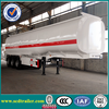 Tri-axle 45000liter fuel tanker semi trailer/fuel tank trailer/oil tanker semi trailer for sale