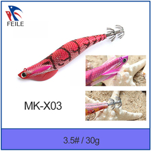 new lead colorful squid jig fishing tackle