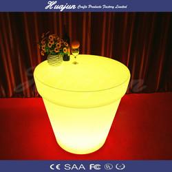 latset design light up bar table