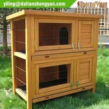Chinese cedar custom rabbit hutch