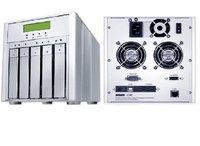 Sans Digital MR5CT1 MobileRAID 5 bay USB, 1394b & eSATA to SATA II HDD RAID 6 External RAID Enclosure