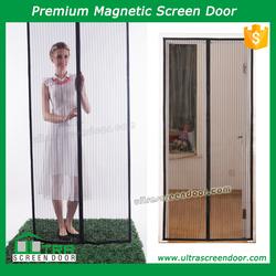 Magnetic Button Accordion Screen Door Outperform Metal Door Curtains