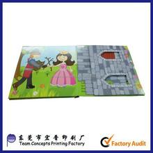 Livro de história de quebra-cabeça para crianças