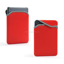 factory price reversible neoprene sleeve pouch bag case fit for Ipad Mini