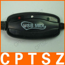 Driver USB MIDI Cable with 1-in/1-out MIDI interface