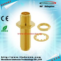 SMA female to RP SMA female coaxial connector adapter