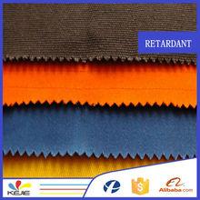 100% cotton fabric printed for fire retardant shirts