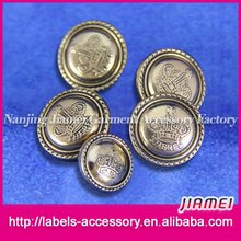 widely used small MOQ clothing decoration 2015 toggle button for coat