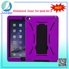 Fashion pc+silicone cool cell phone cases for ipad air 2