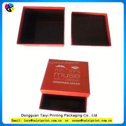 Customized printed cardboard box 1c 1-layer sbb offset paper gift box