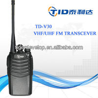 Td-v30 durable handheld 5watts uhf 10 meter radios for sale