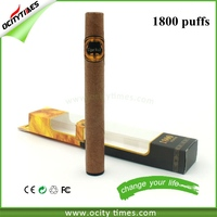 New products on the russian market 2ml e cig tank disposable e cigs Ocitytimes 1800puffs disposable e-cigar