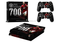 Football Team Club Series Vinyl Decal Skin Sticker Cover for Sony PlayStation 4 PS4 Console and 2 Controllers