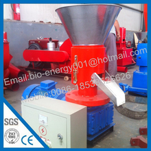 CE Approved Flat Die Small Pellet Press with Best Price
