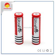 lithium and li-ion battery Ultrafire 18650 26650 4200mah 6800mAh 3.7V rechargeable battery High Drain battery
