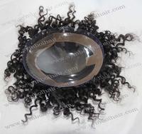 9*7 1B# 7inch Brazilian virgin hair Men toupee