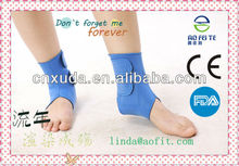 Tourmaline Auto-heating Nano Magnetic therapy ankle guard--wearable blood circulation improvement and prevent soreness
