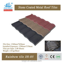 Building material for roofing stone coated metal roof