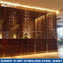 304 coffe stainless steel room divider,home room divider,home living room screen