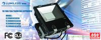 Waterproof 5 years warranty DLC led wall pack led tunnel light, ip65 led flood light fixture