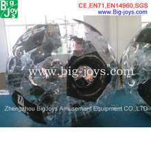 new model football design zorb ball