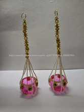 Decoración hecha a mano Diseñador Pot Hanging Diya