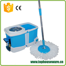 OEM color printing plastic bucket 360 magic easy spin mop manufacturer