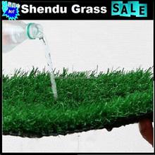 green grass rug for sports basketball court