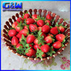 Factory Direct 4cm Artificial Fake Fruit Strawberry For Wedding Decorative