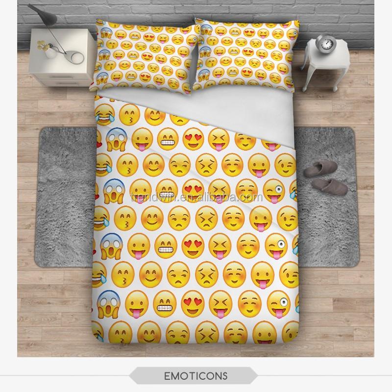 Wholesale Wholesale Funny Emoji Duvet Cover Of China