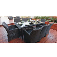 Luxury rattan sets for dinning