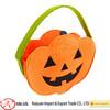 Felt Halloween Pumpkin Candy Basket