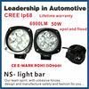 Good news!!50w 6500k 4800lm factory price lifetime warranty CREE IP68 spot and flood light led light bar for car