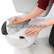 Disposable toilet seat cover commercial paper ,original pulp toilet seat cover