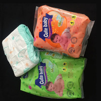 Disposable small packing grade A baby diaper