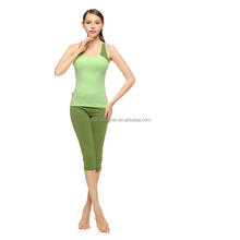 (Factory: OEM/ ODM) anti bacteria, moisture wicking, breathable women yoga fitness wear