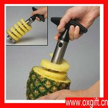 nuevo oxgift fácil de frutas de piña slicer corer peeler parer cuchillo cortador de la máquina máquina de cortar