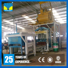 QT8-15 Fully auto 3years warranty big productivity road paver interlocking brick forming machine