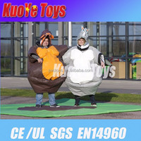 fighting inflatable sumo suits,inflatable foam padded sumo suits for adult and kids,sumo wrestling suit for sale