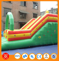 Popular jumping castle inflatable water slide with pool